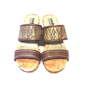 Coach and Four Sandals